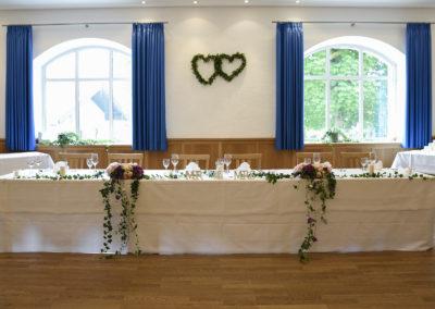 Brauttisch Hochzeit Neureuthersaal